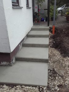 Außenaufgang Betonplatten erstellen Ehingen, Laupheim