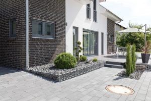 Gartenbau Ehingen, Terrassenzugang