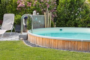 Gartenbau Ehingen, Unterbau Pool